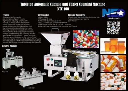 capsule pill tablet counter